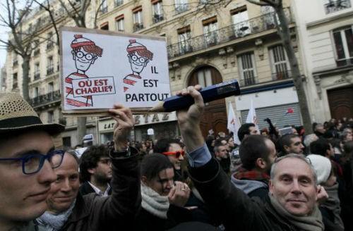 44 nhà lãnh đạo cấp cao về Paris tưởng niệm nạn nhân vụ xả súng tại Pháp - anh 16