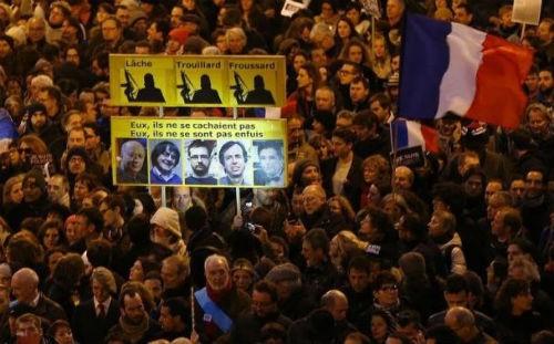 44 nhà lãnh đạo cấp cao về Paris tưởng niệm nạn nhân vụ xả súng tại Pháp - anh 17