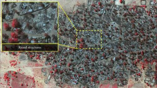 Khủng bố Boko Haram 'xóa sổ' hoàn toàn 1 ngôi làng ở Nigeria - anh 1