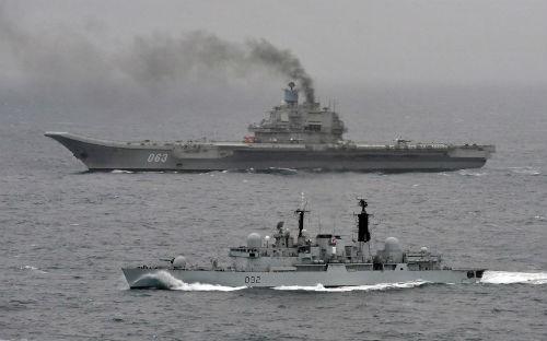 Top 10 hàng không mẫu hạm và tàu khu trục 'đáng sợ' nhất thế giới - anh 4