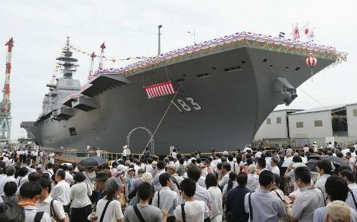 Top 10 hàng không mẫu hạm và tàu khu trục 'đáng sợ' nhất thế giới - anh 1
