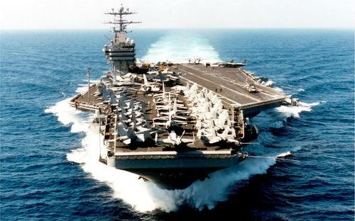 Top 10 hàng không mẫu hạm và tàu khu trục 'đáng sợ' nhất thế giới - anh 3