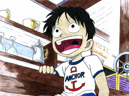 [One Piece] Những hình ảnh đẹp nhất của Monkey D. Luffy - anh 3