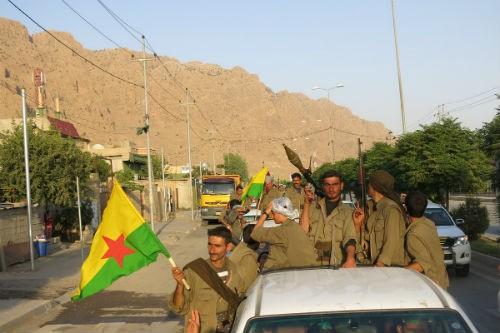 Khủng bố IS bị đánh bay khỏi Kobani sau hơn 3 tháng chiếm đóng - anh 1