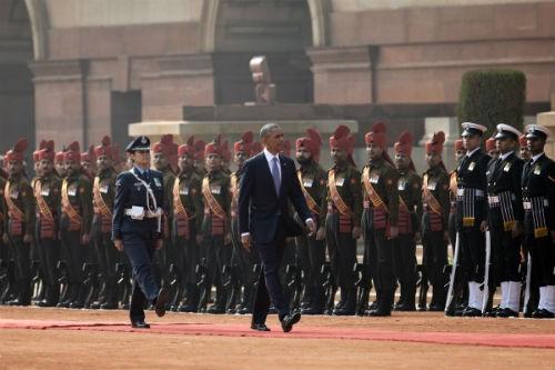 Toàn cảnh Tổng thống Obama trong chuyến thăm Ấn Độ 3 ngày - anh 10