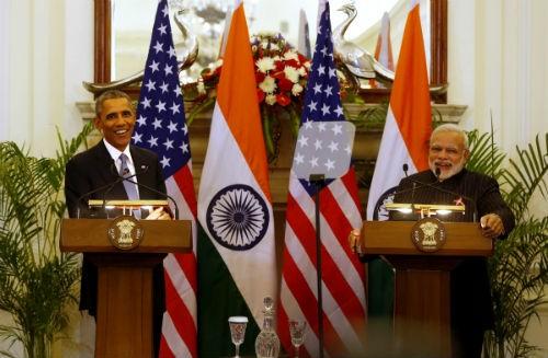 Toàn cảnh Tổng thống Obama trong chuyến thăm Ấn Độ 3 ngày - anh 1