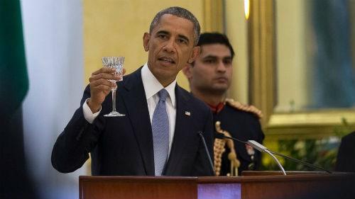 Toàn cảnh Tổng thống Obama trong chuyến thăm Ấn Độ 3 ngày - anh 17