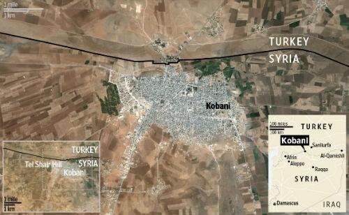 Khủng bố IS bị đánh bay khỏi Kobani sau hơn 3 tháng chiếm đóng - anh 2