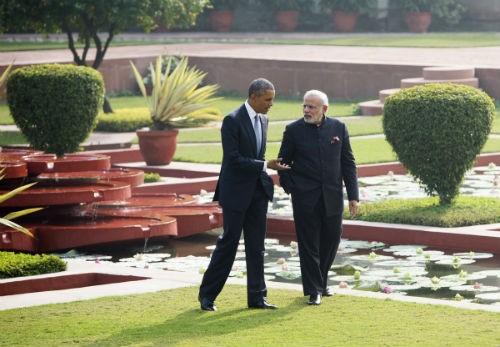 Toàn cảnh Tổng thống Obama trong chuyến thăm Ấn Độ 3 ngày - anh 12