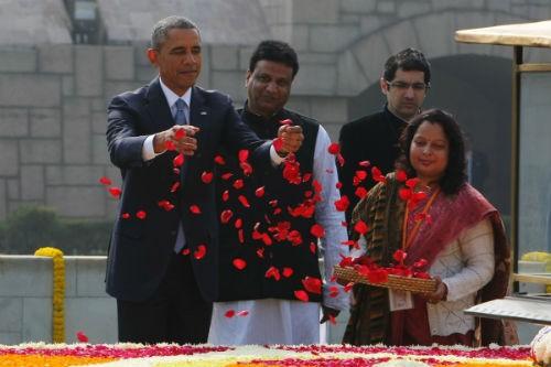 Toàn cảnh Tổng thống Obama trong chuyến thăm Ấn Độ 3 ngày - anh 8