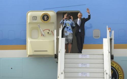 Toàn cảnh Tổng thống Obama trong chuyến thăm Ấn Độ 3 ngày - anh 3
