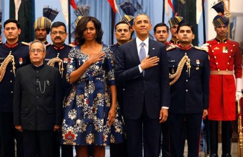Toàn cảnh Tổng thống Obama trong chuyến thăm Ấn Độ 3 ngày - anh 16
