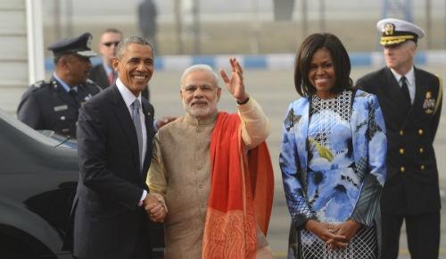 Toàn cảnh Tổng thống Obama trong chuyến thăm Ấn Độ 3 ngày - anh 4