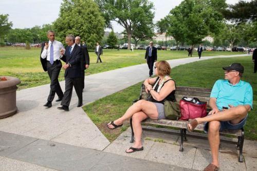 Những hình ảnh rất-đời-thường của Tổng thống Barack Obama - anh 12