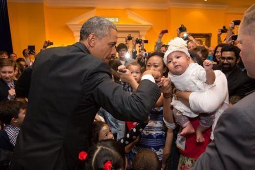 Những hình ảnh rất-đời-thường của Tổng thống Barack Obama - anh 16