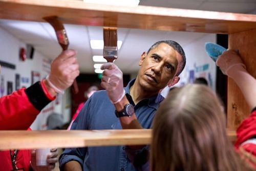 Những hình ảnh rất-đời-thường của Tổng thống Barack Obama - anh 29