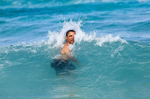Những hình ảnh rất-đời-thường của Tổng thống Barack Obama - anh 31