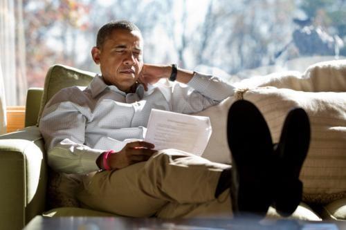 Những hình ảnh rất-đời-thường của Tổng thống Barack Obama - anh 35