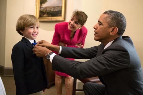 Những hình ảnh rất-đời-thường của Tổng thống Barack Obama - anh 10