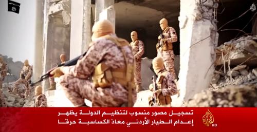Khoảnh khắc cuối cùng của phi công Jordan bị IS thiêu sống [Video] - anh 1