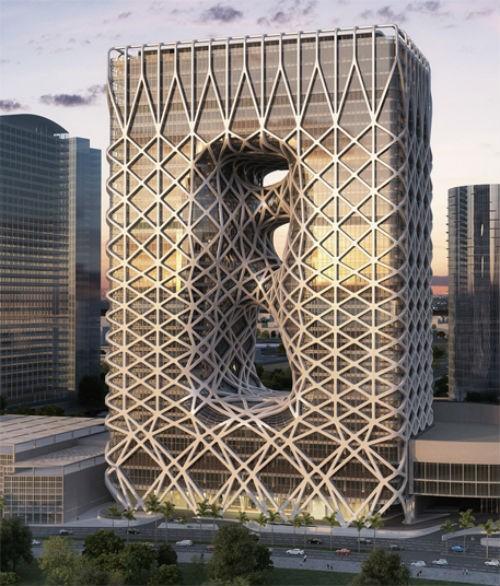 Ngắm những công trình kiến trúc đẹp nhất thế giới trong tương lai - anh 6