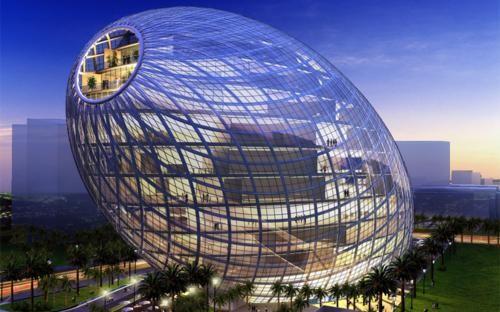 Ngắm những công trình kiến trúc đẹp nhất thế giới trong tương lai - anh 1
