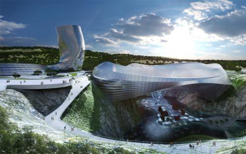 Ngắm những công trình kiến trúc đẹp nhất thế giới trong tương lai - anh 8