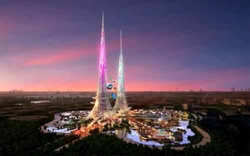 Ngắm những công trình kiến trúc đẹp nhất thế giới trong tương lai - anh 4