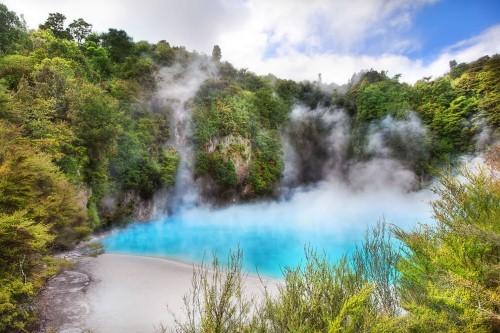 Vẻ đẹp thiên đường của những hồ núi lửa trên Trái đất - anh 6