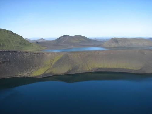 Vẻ đẹp thiên đường của những hồ núi lửa trên Trái đất - anh 7