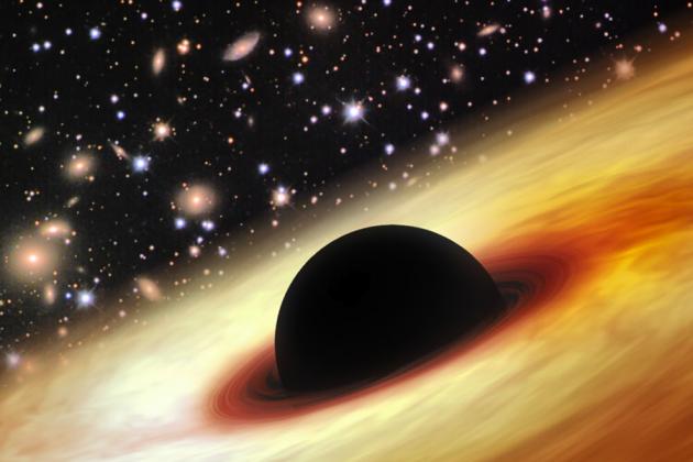 Phát hiện 'siêu lỗ đen', lớn gấp 12 tỷ lần so với Mặt Trời - anh 2
