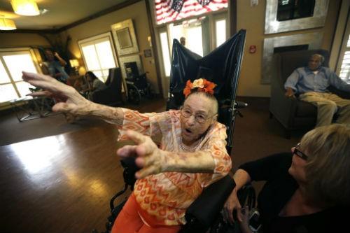 Cụ bà Misao Okawa sống thọ nhất thế giới qua đời ở tuổi 117 - anh 2