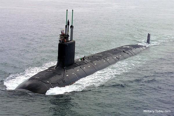 TOP 10 tàu ngầm tấn công đáng sợ nhất hành tinh - anh 2