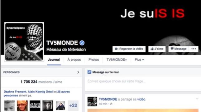 Tin tặc IS đánh sập kênh truyền hình của Pháp - anh 1