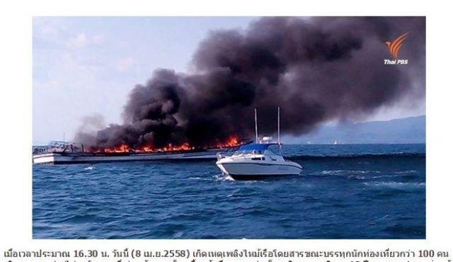 Cháy lớn trên tàu du lịch chở 100 người, bé gái chết thảm? - anh 1