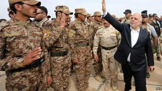 Iraq thề đánh bại IS trên chiến trường al-Anbar - anh 1
