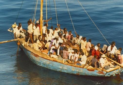 Chìm thuyền ở Haiti, 38 người gặp nạn thảm khốc - anh 1