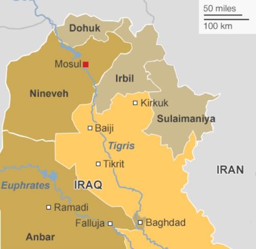 Khủng bố IS điên cuồng lao xe tự sát vào nhà máy dầu lớn nhất Iraq - anh 4