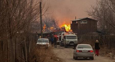 Cháy rừng ở Siberia: Gần 500 người thương vong - anh 1