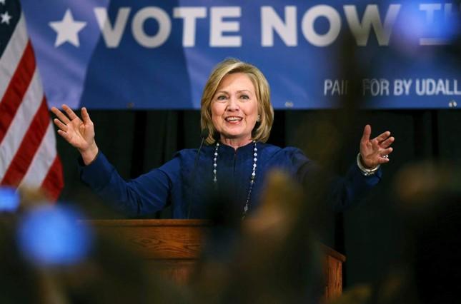 Hillary Clinton sẽ là nữ Tổng thống đầu tiên của nước Mỹ? - anh 1