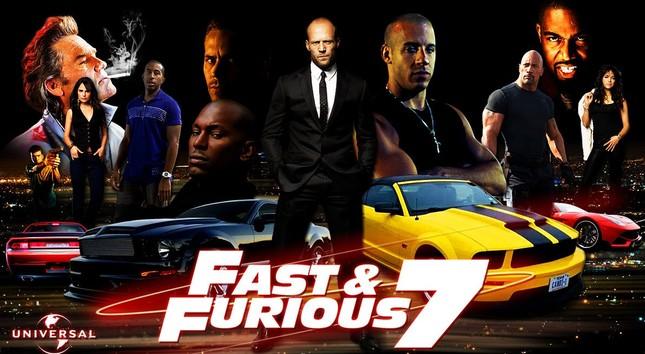 """Bom tấn """"Fast & Furious 7"""" đạt doanh thu 1 tỷ USD sau 2 tuần công chiếu - anh 1"""