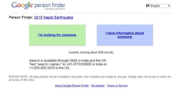 Google, Facebook bắt tay cứu giúp nạn nhân vụ động đất kinh hoàng ở Nepal - anh 1