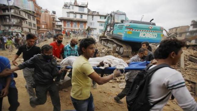 Thế giới viện trợ khẩn cấp, chung tay giúp đỡ nạn nhân động đất Nepal - anh 1