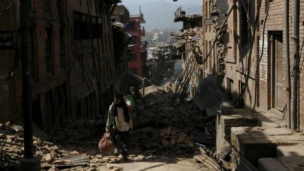 Một tuần sau Động đất Nepal: Những con số nghiệt ngã - anh 2