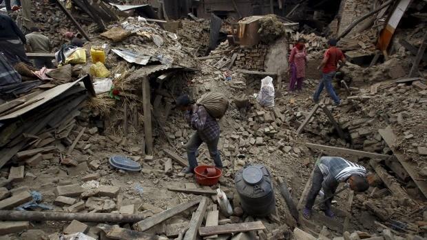 Một tuần sau Động đất Nepal: Những con số nghiệt ngã - anh 3