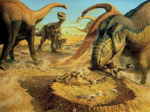 Đi tìm nguyên nhân thực sự khiến khủng long tuyệt chủng - anh 1