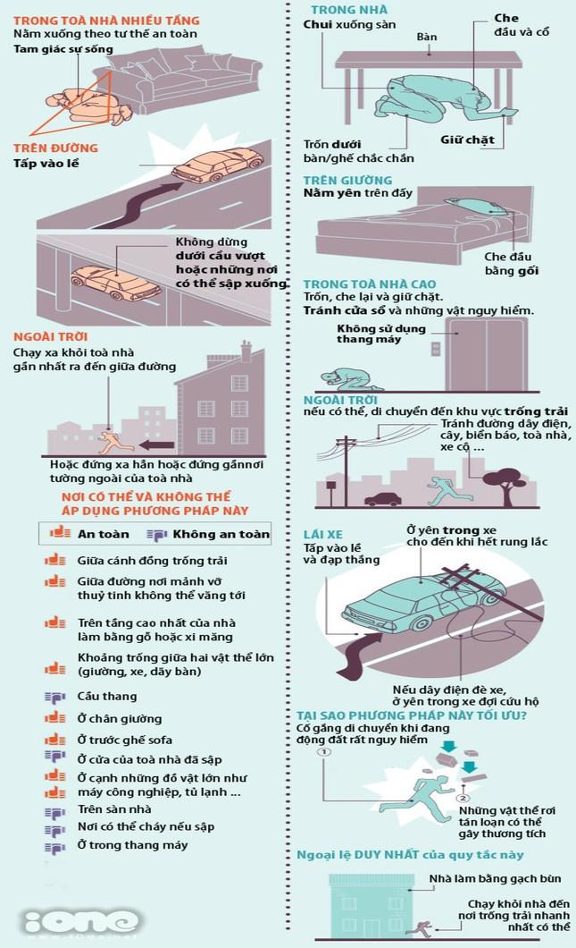 Động đất và kỹ năng sống sót qua các cơn địa chấn [Infographics] - anh 6