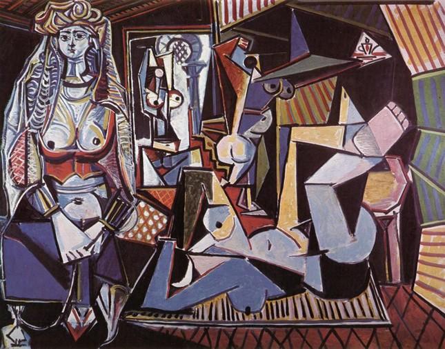 """Bức tranh """"Les Femmes d'Alger"""" của Picasso cán mốc kỷ lục 179,3 triệu USD - anh 1"""