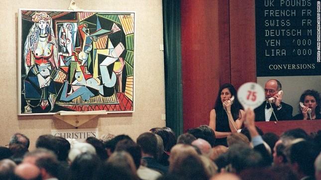 """Bức tranh """"Les Femmes d'Alger"""" của Picasso cán mốc kỷ lục 179,3 triệu USD - anh 2"""