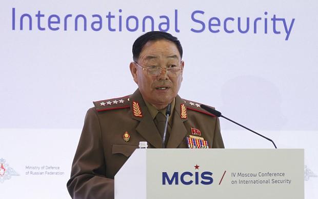 Tin tình báo: Triều Tiên xử tử Bộ trưởng Quốc phòng - anh 1
